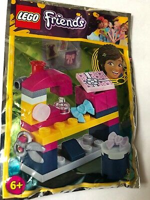 Lego Friends Wishing Well With Andrea's Little Bird Mini Figure Polybag