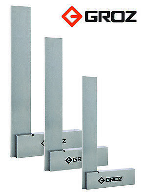 Groz Engineers Machinist Squares (Multiple Sizes)