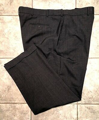 STAFFORD * Mens Gray Casual Pants * Size 48 Big and Tall * EXCELLENT
