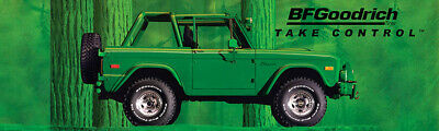 "REPRODUCTION BF GOODRICH Banner 1971 FORD BRONCO 21""x72"""