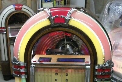 Antique Apparatus Rowe Jukebox Bubbler 1015 Top Curve pilaster Right Side #57387