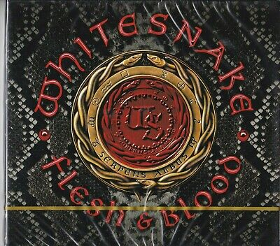 WHITESNAKE - Flesh & blood ( 2019 Frontiers cd + Bonus Dvd / Sealed digipack)