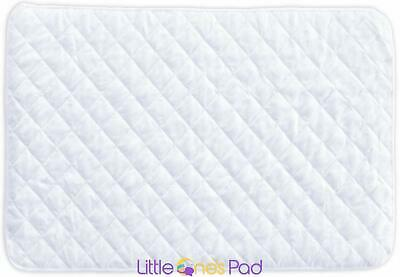 """Little One's Pad  27"""" X 39"""" Pack N Play Crib Mattress Cover Protector New"""