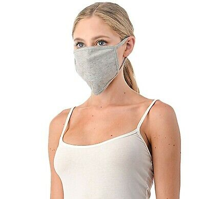 6 Pcs/pack Cotton Reusable Double Layer Handmade Fabric Face Masks Made in USA