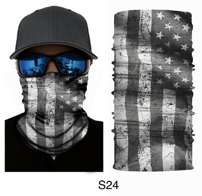 Blue Battle Flag Face Neck Shield Mask Free Shipping from USA.First Class USPS.