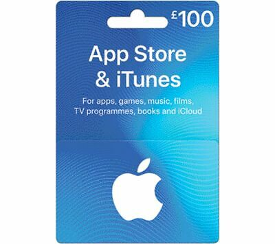 ITUNES £100 App Store & iTunes Gift Card - Currys