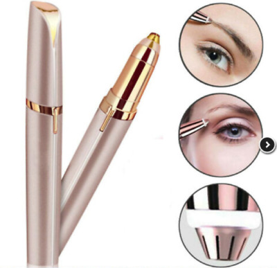 Women Electric Brows Trimmer Razor Hair Remover Facial Face Eyebrow Epilator
