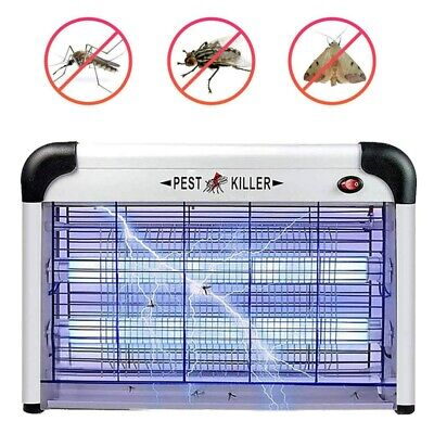 30W Electric Fly Zapper Insect Killer Bug Pest Trap Small Large Indoor Kitchen