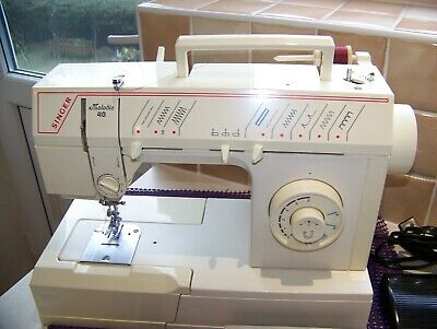 Singer Melodie F/Arm Z/Z, Blindhem Heavy Duty Sewing Machine,Manual, Serviced