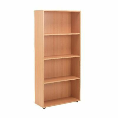 Jemini 18 Beech 1620mm Open Bookcase KF79017