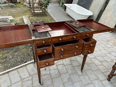 antique mahogany Gentlemans Wash Stand