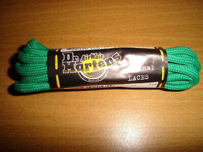 (210cm, Green) - Dr Martens 210cm 14 Eyelet Boot Shoelaces Laces. Free Delivery