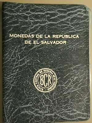 El Salvador Unlisted Mint Set 1970-1975  1 - 50 Centavos