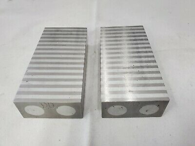 Pair of Magnetic Parallel Blocks for Surface Grinder, Ships Free
