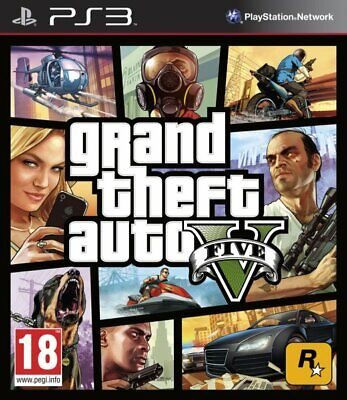 Gta V, Grand Theft Auto, Ps3 (Playstation 3) Castellano Store España (No Disco)