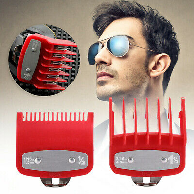 2PCS/Set 1.5/4.5mm Hair Clipper Limit-Trimmer Cutting Guide Comb Guards For Wahl