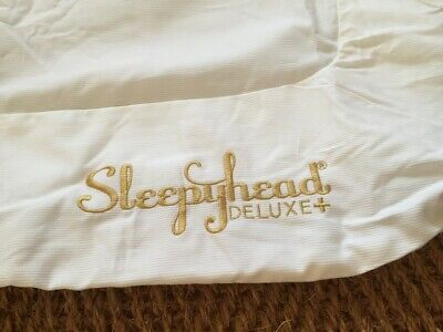 Sleepyhead Deluxe Plus Replacement Cover - Pristine White