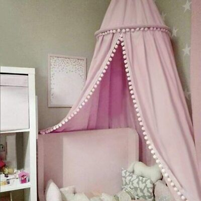 Cotton Baby Canopy Mosquito Net Anti Mosquito Princess Bed Canopy for Kids Room