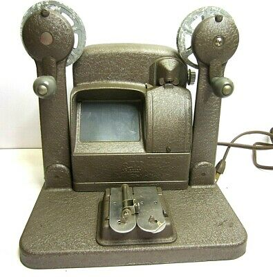 Vtg Baia 8mm Film Viewer Splicer Editing