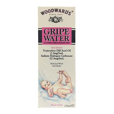 EXP-09-2020 - Woodwards Alcohol Sugar Free Gripe Water 150ml