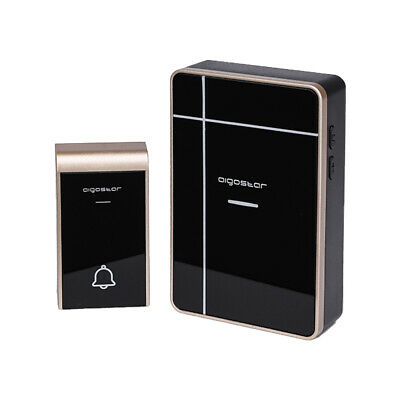 Campanello Senza Fili A Batterie Wireless Digitale Ip44 Porte Casa Ufficio Porta