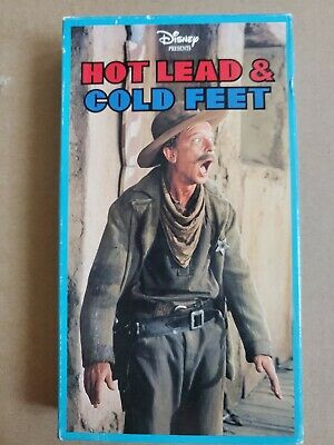 Hot Lead and Cold Feet (VHS 1997) Disney Stock #019 USPS Ship