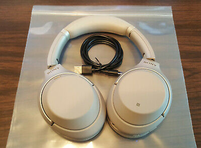Sony WH-1000XM3 Wireless Noise Cancelling Headphones WH1000XM3 #40 **Preowned**