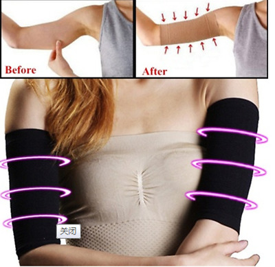 Women Weight Loss Arm Shaper Fat Buster Off Cellulite Slimming Wrap Belt Band US