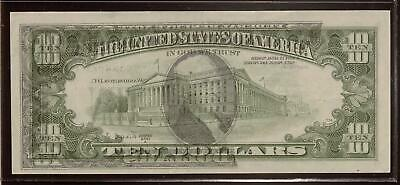 75% Offset Error  | 1988A $10 Federal Reserve Note | Front to Back Offset