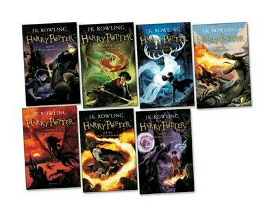 Harry Potter Collection Book Pack (7 paperbacks) RRP £59.93