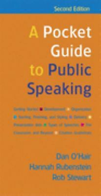 A Pocket Guide to Public Speaking by O'Hair, Dan , Spiral-bound