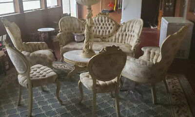 Antique Pelham, Shell & Leckie Living Room Set