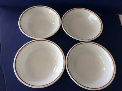 Set of 4 Corelle Corning Indian Summer Fruit Dessert Bowls