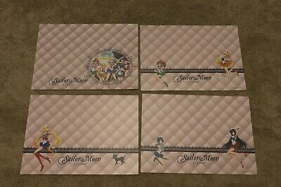 Sailor Moon Crystal Placemat Set of 4 Lunch Mat Lot