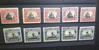 US Stamps 620-621 ONE set Mint Never Hinged MNH 1925 Issue Norse American