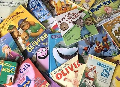 Lot of 20 Children's Books Story Picture Reading