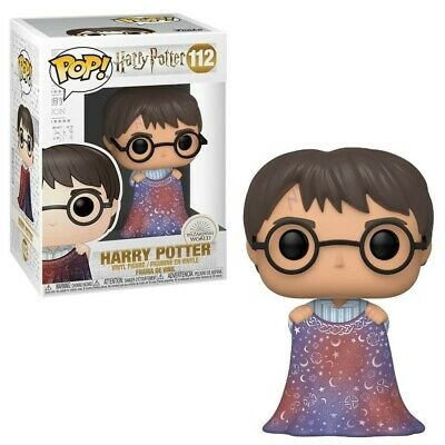 Figurine Harry Potter - Harry Potter with Invisibility Cloak pop 10cm
