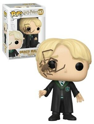 Figurine Harry Potter - Draco Malfoy with Whip Spider Pop 10cm