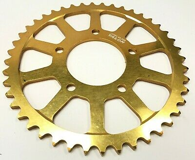 Genuine Talon Gold Anodised 44T 525 Sprocket