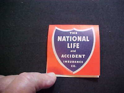 The National Life Insurance Company Sewing Needle Case