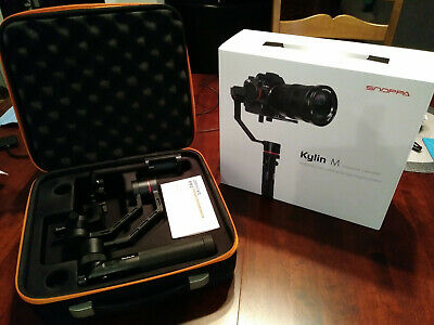 Snoppa Kylin M gimbal stabilizer for mirrorless cameras Sony, Fuji, Panasonic