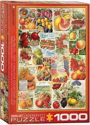 EuroGraphics Fruits Smithsonian Seed Catalogues Jigsaw Puzzle (1000-Piece)