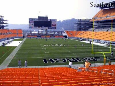 (2) Steelers vs Browns Tickets Lower Level 9th Row!!