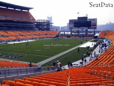 (6) Steelers vs Broncos Tickets Lower Level Section 127 row V/W!!