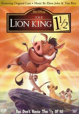 The Lion King 1 1/2 - Disney (2 DVD Set, 2004)