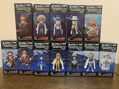 Banpresto One Piece WCF World Collectable Figure Film Z Marines Set of 12