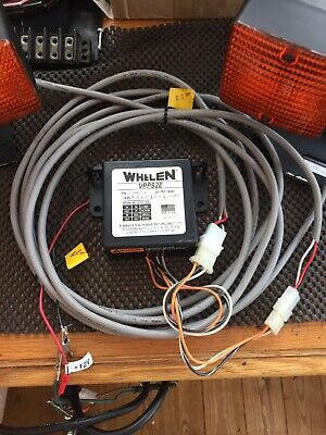 Whelen Two Channel Strobe Unit With Amber Strobe Lights