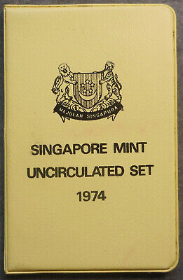 Singapore 1974 Year of the Tiger  Uncirculated Mint Coin set to $1