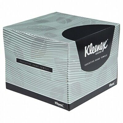 New Kimberly Clark Kleenex 4480 Executive Luxury Towels - 32Cm X 32.5Cm Carton