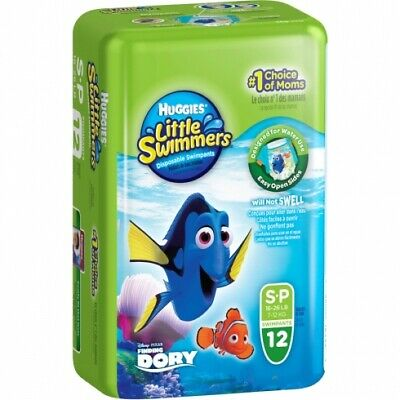 New Huggies Little Swimmers Disposable Swimpants - Disney/Pixar Finding Dory